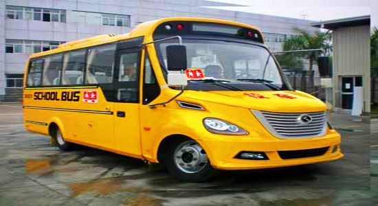 金龙37座小学生校车